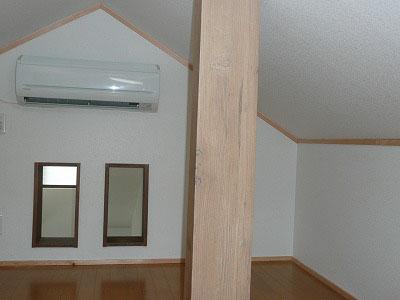 屋根裏に第二の部屋を