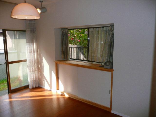 跳ね出し出窓による接合部低減係数の悪い家の耐震施工【施工後】