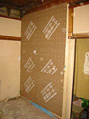 和室の引き戸違いによる耐震補強事例